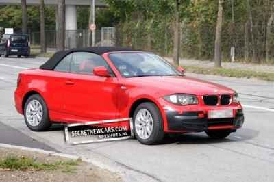 Facelifted BMW 1 Series Convertible Spied