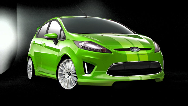 Customized Ford Fiestas Debut at SEMA