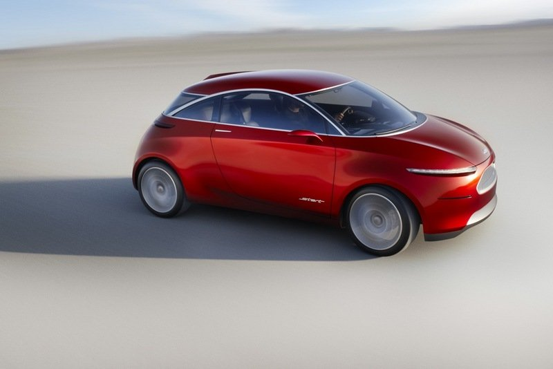 Ford Start Concept to Replace the Ka