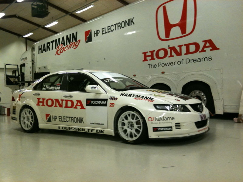 From Wreck to Racecar; Hartmann Racing accepts the challenge