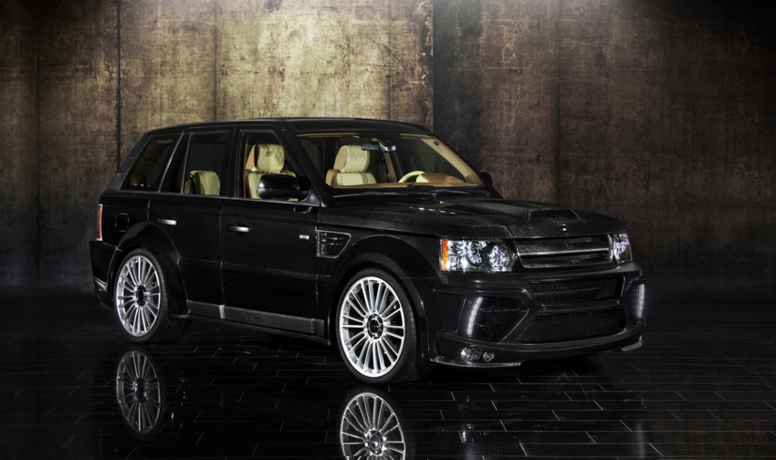 Land Rover Range Sport Reviews Specs Prices Photos And 2007 Supercharged Firing Order With Diagrams Images 2010 Landrover By Mansory