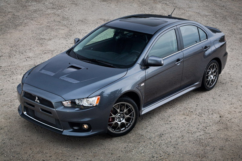 2011 Mitsubishi Lancer Evolution High Resolution Exterior - image 377894