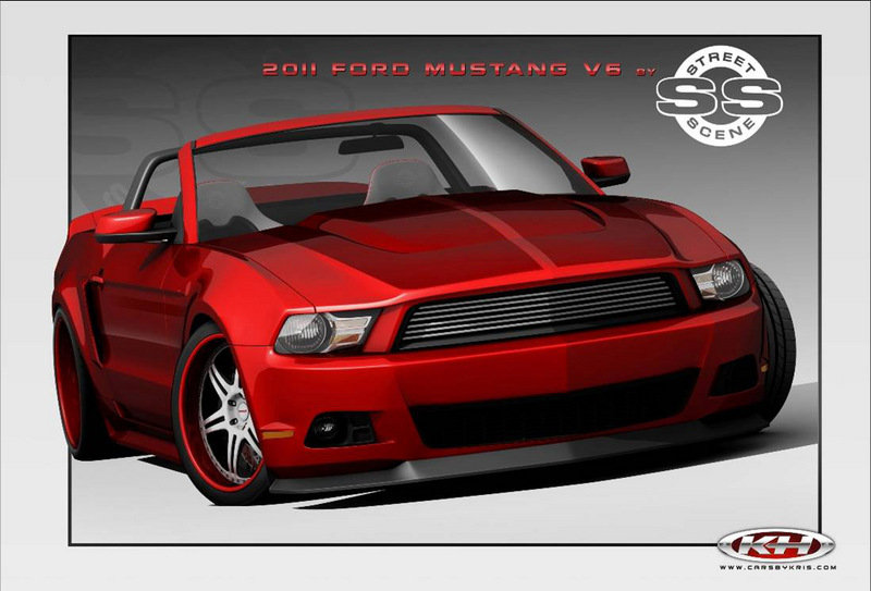 Nine customized Ford Mustangs to be displayed at SEMA Exterior Drawings - image 379227