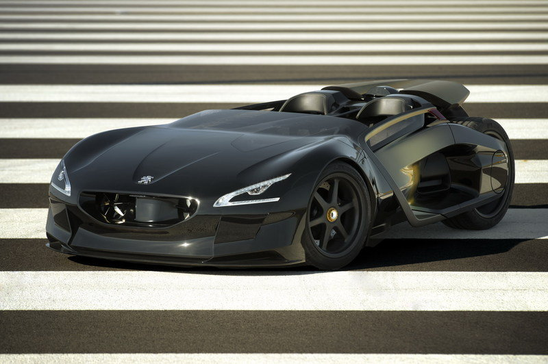 Peugeot EX1 previews future electric sports car