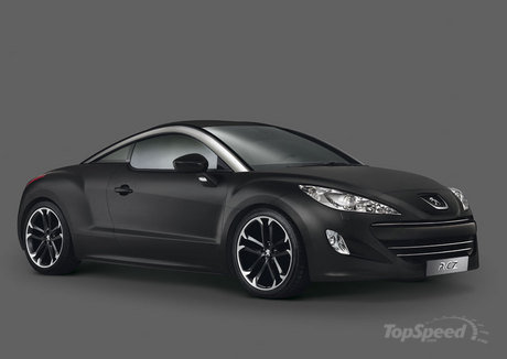 Following the RCZ Limited Edition, the RCZ Asphalt gets almost double the ...