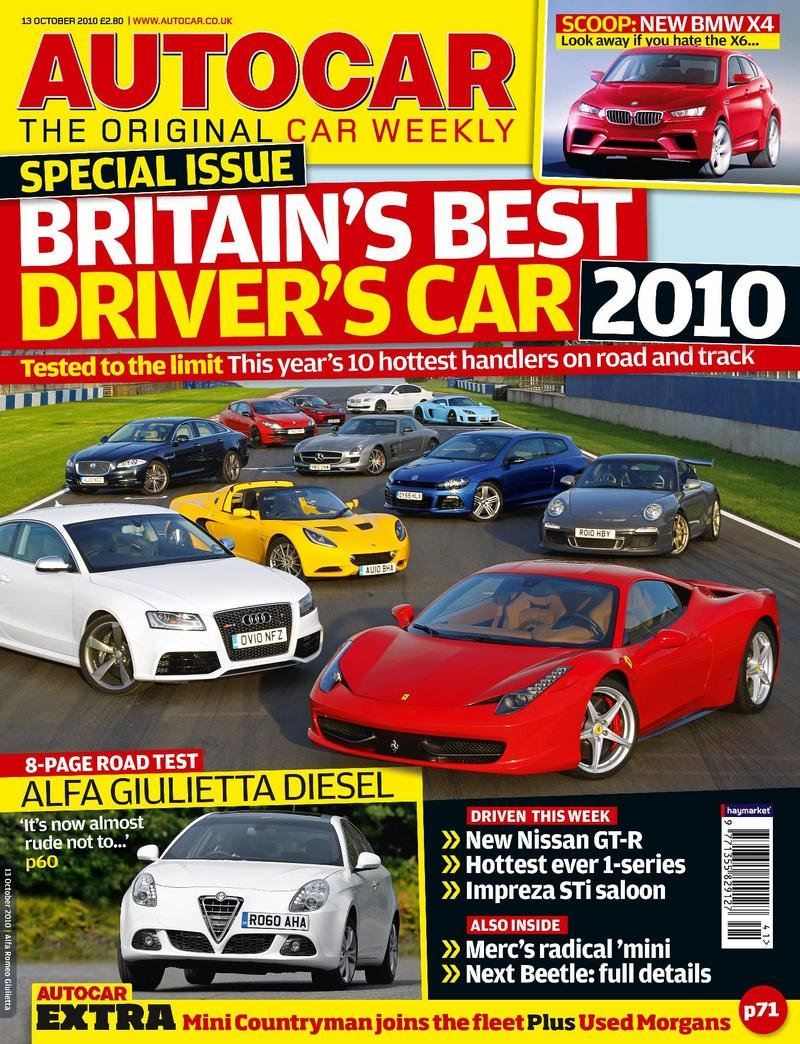 Porsche GT3 RS: Britain's Best Drivers' Car 2010