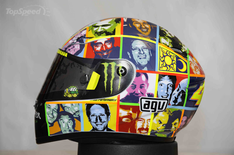 Valentino Rossi Replica Helmets: not one but two!!