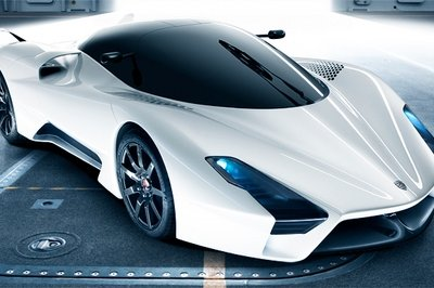 SSC Ultimate Aero II - new images revealed