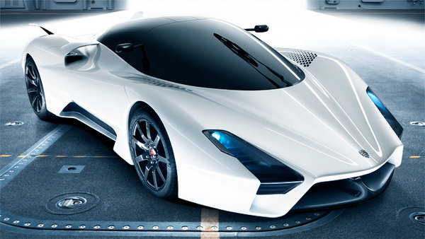 ssc ultimate aero ii - new images revealed picture