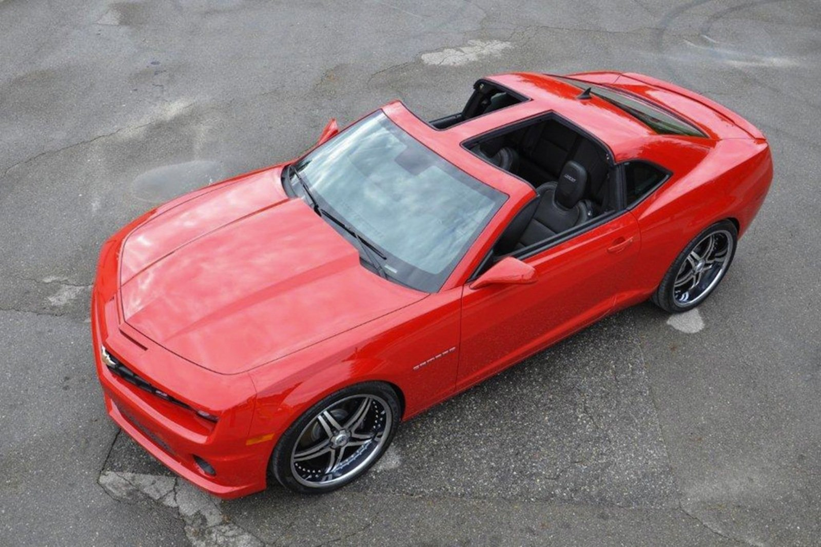 2010 Chevrolet Camaro T Top By Drop Top Customs Review