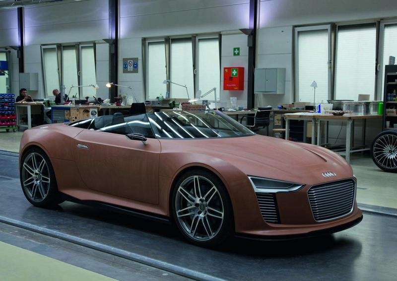 The process of building the Audi e-Tron Spyder