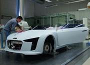 The process of building the Audi e-Tron Spyder - image 379163
