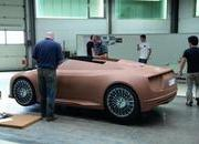 The process of building the Audi e-Tron Spyder - image 379150