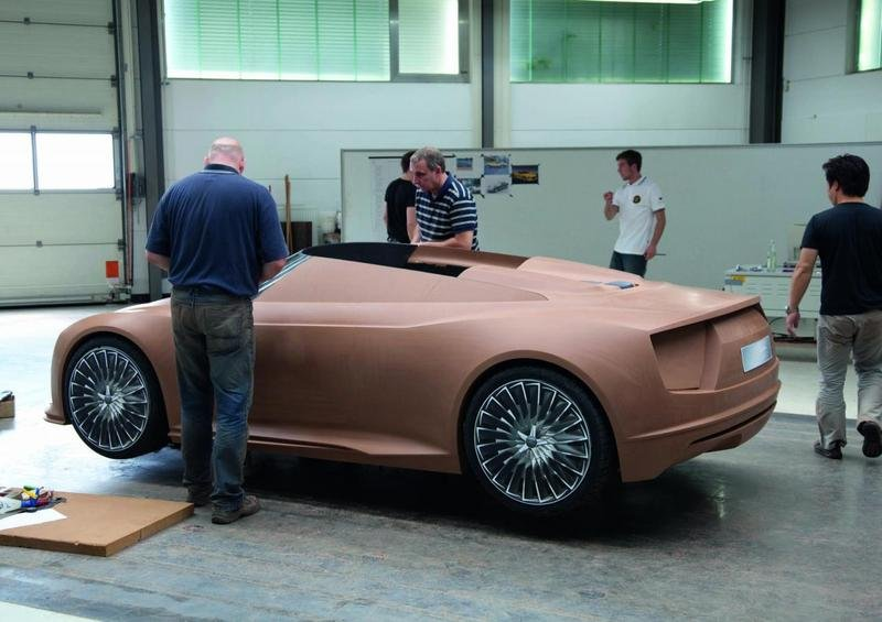 The process of building the Audi e-Tron Spyder High Resolution Exterior - image 379150