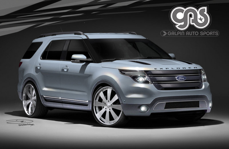 Three customized Ford Explorers coming to SEMA