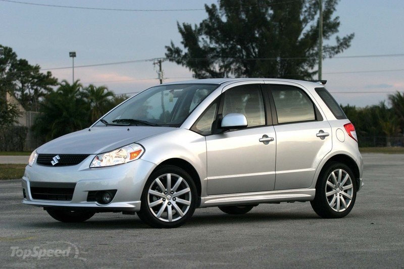 "Top Gear USA's vehicle for ""Big Star in Small Car"" will be a Suzuki SX4 Exterior - image 378406"