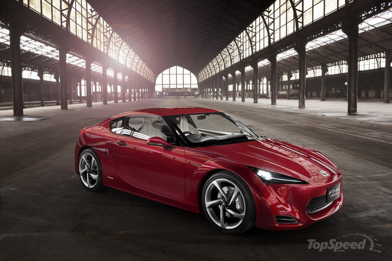 Toyota to give the FT-86 a Scion badge