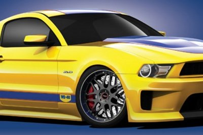 2010 Ford WD-40/SEMA Cares Mustang