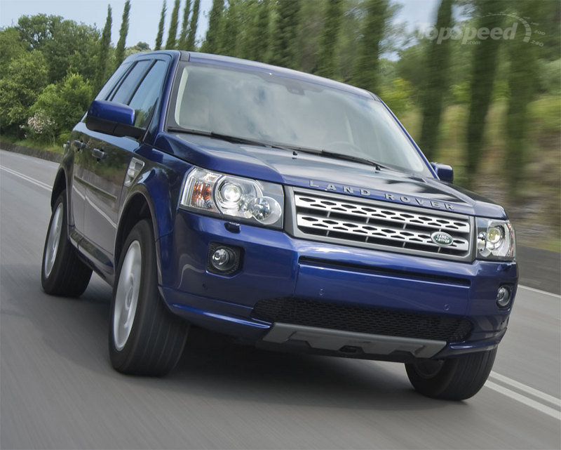 2010-2011MY Land Rover LR2 Freelander being recalled due to airbag issues