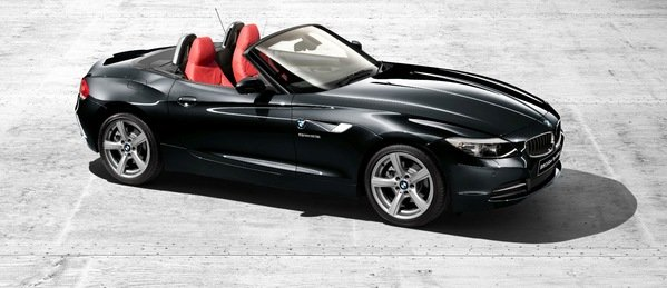 bmw z4 silver top edition picture