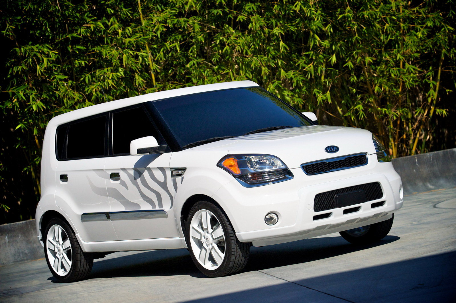 2010 kia soul white tiger concept review top speed. Black Bedroom Furniture Sets. Home Design Ideas