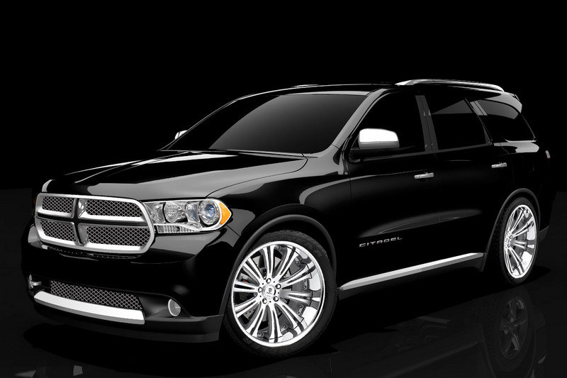2011 Dodge Durango Citadel Black and Tan