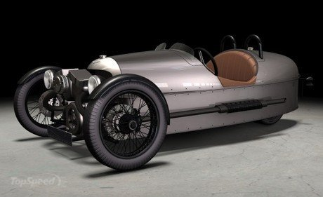 The 2011 Morgan Threewheeler is a fusion of modern technology into a classic