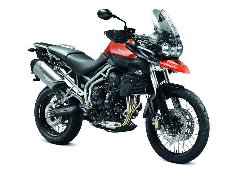 2011 Triumph Tiger 800 and 800XC High Resolution Exterior - image 380680