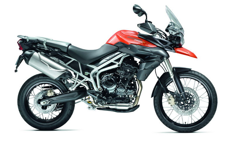 2011 Triumph Tiger 800 and 800XC