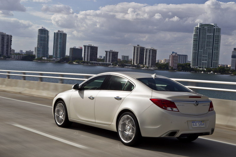2012 Buick Regal GS High Resolution Exterior - image 380492
