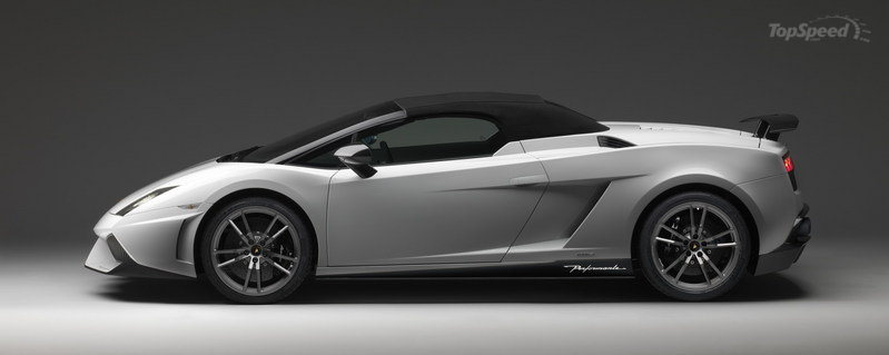 2012 Lamborghini Gallardo LP 570-4 Spyder Performante