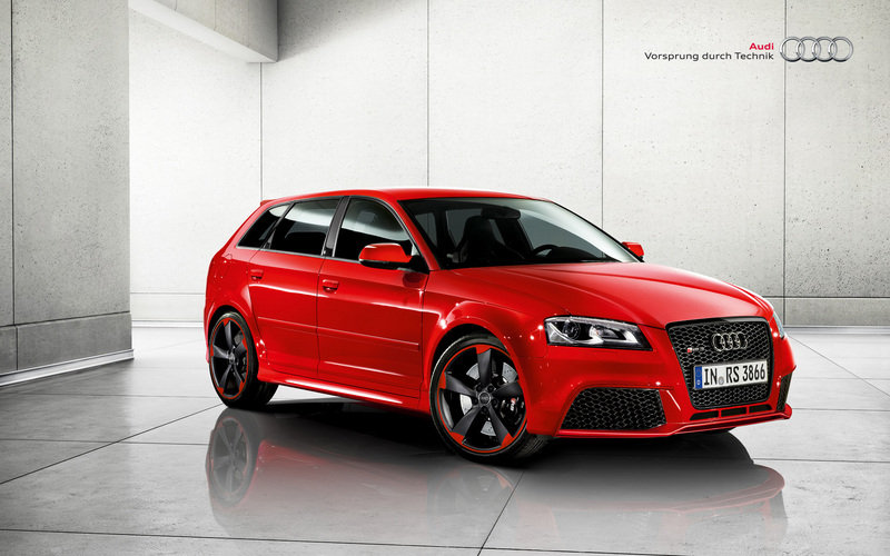 2012 Audi RS3 Sportback Black Optics Package