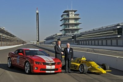 Chevrolet To Supply Engines For Indy In 2012
