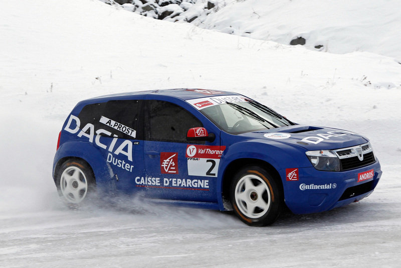 2010 Dacia Duster Ice Racer