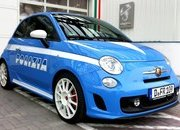 Fiat 500 Abarth in Polizia livery by Bilstein