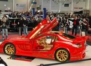 Gold-plated McLaren SLR 999 blinds Dortmund MY Show - image 381455