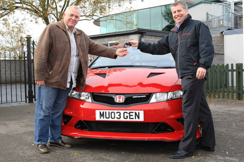 Honda gives away Civic Type R Mugen Concept to lucky British man