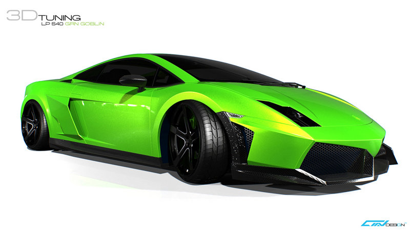 Lamborghini Gallardo LP 540 Green Goblin By AMV Design Is A Hot Green Mess