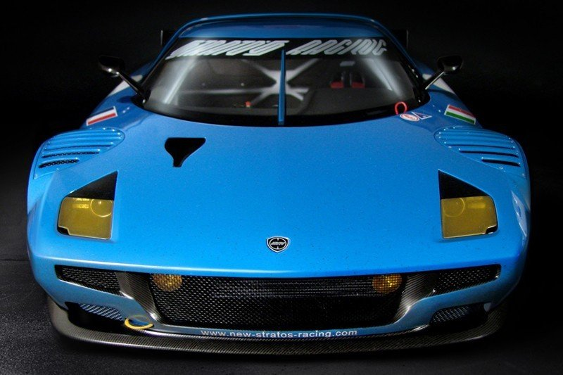 Scale models of the Lancia Stratos GT2 should hold us over