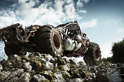 Marek Denko Buggy is perfect for your muddy weekend
