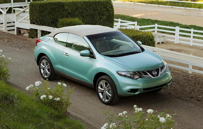 2011 Nissan Murano CrossCabriolet High Resolution Exterior Wallpaper quality - image 382987