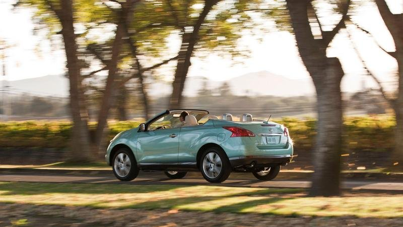2011 Nissan Murano CrossCabriolet High Resolution Exterior - image 382947