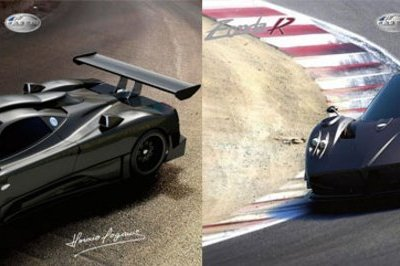 Pagani holds track day at Ascari race circuit