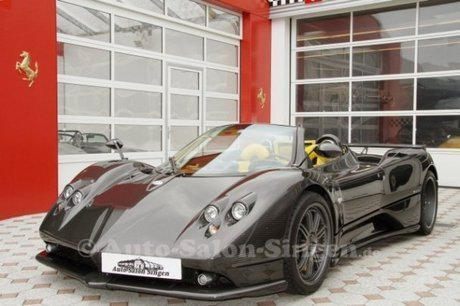 pagani zonda f roadster clubsport for sale
