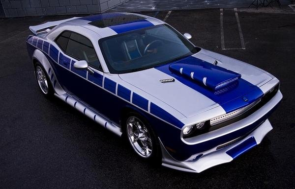 dodge challenger by rich evans picture
