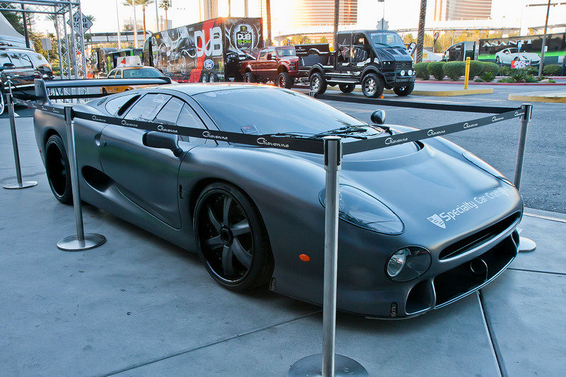 SEMA: Tuned up Jaguar XJ220 up for sale