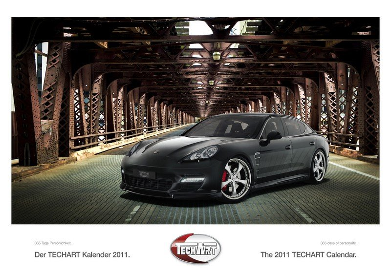 Petrolheads' Porn: TechArt's limited edition 2011 Calender