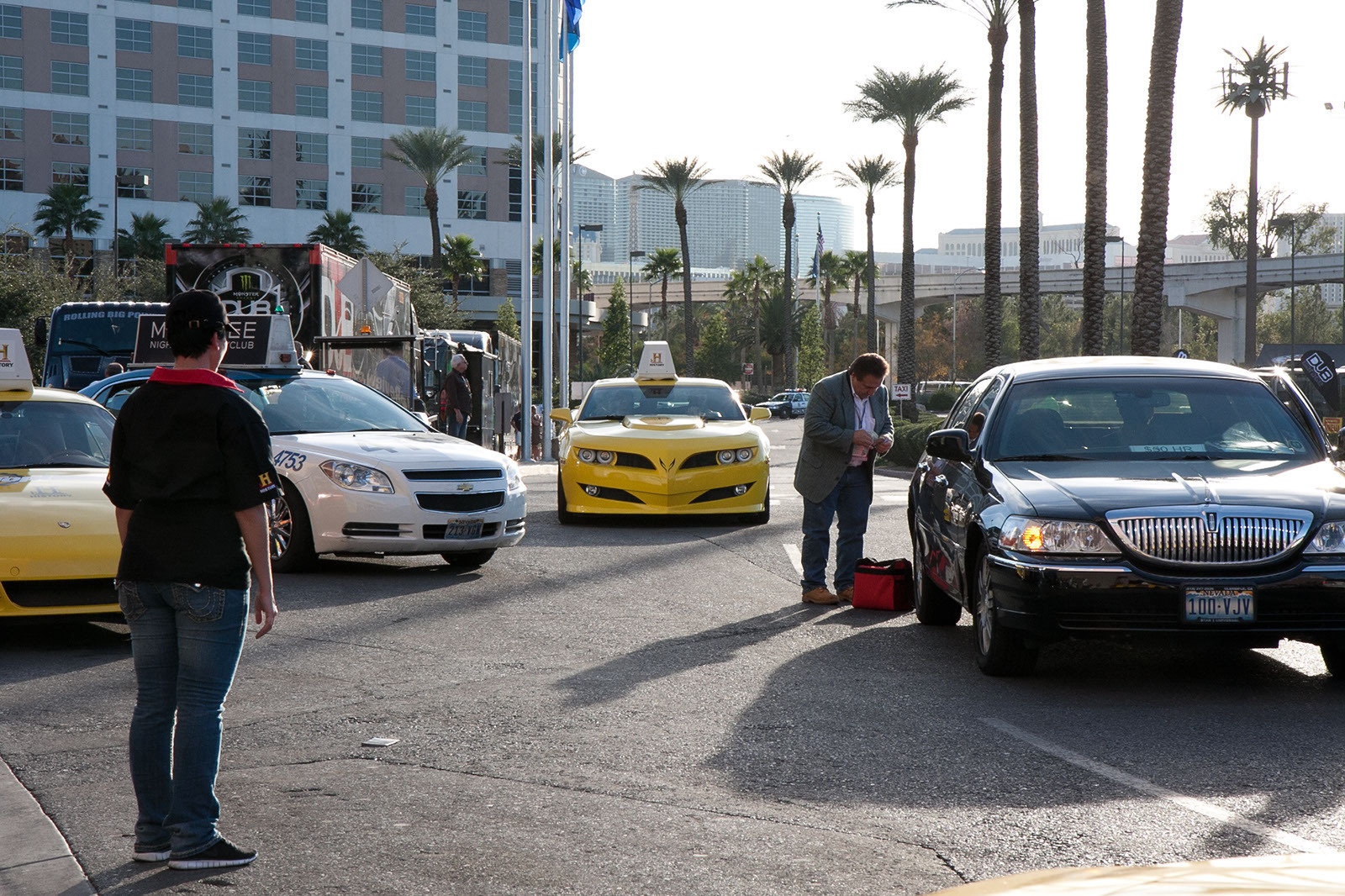 top gear usa brings promotional exotic taxis to sema picture 380776 car news top speed. Black Bedroom Furniture Sets. Home Design Ideas
