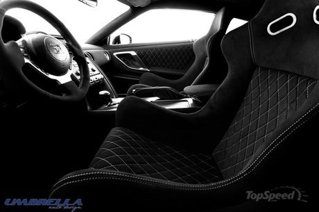 umbrella auto design gives the nissan gtr an interior you 8217 ll have to take to the cleaners