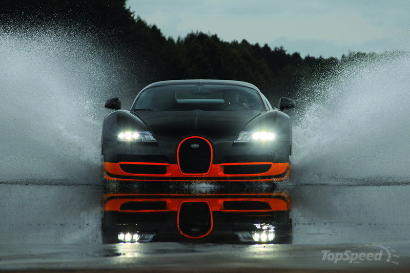 US EPA names the Bugatti Veyron as the worst gas guzzling car